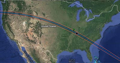 Eclipse, US path